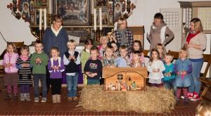 Kindergarten Stedesand Weihnachtsfeier 2013