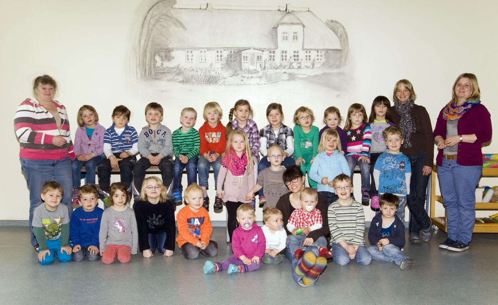 Kindergarten Stedesand April 2014