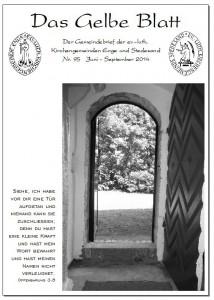 Gelbes Blatt Nr. 95
