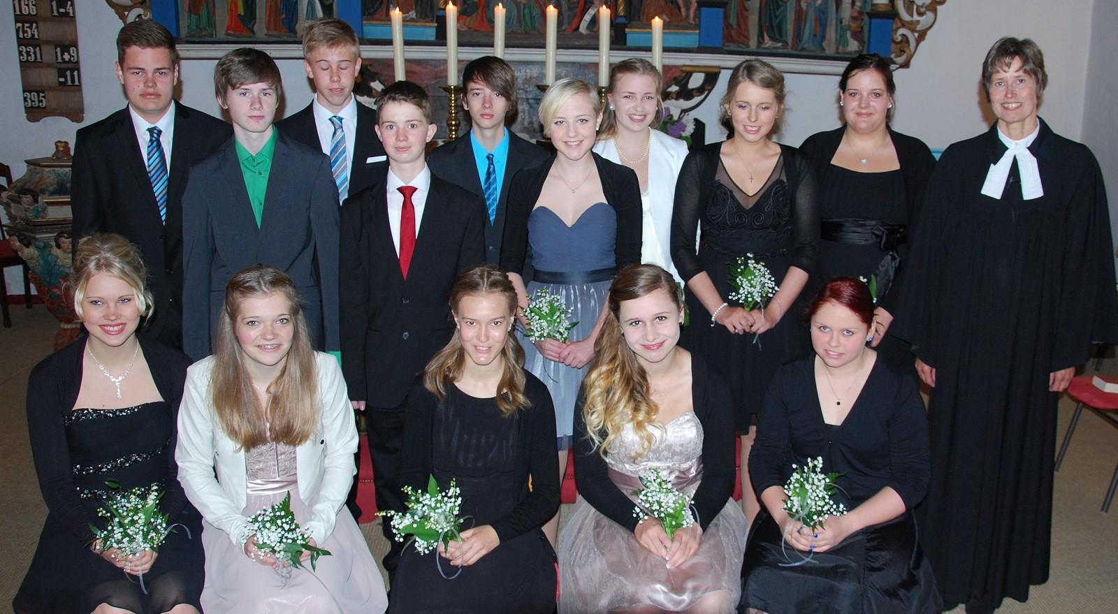 Konfirmation Enge 2014 (R) Karin Johannsen