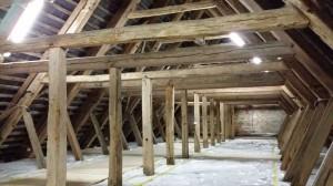 Dachboden Kirche Stedesand