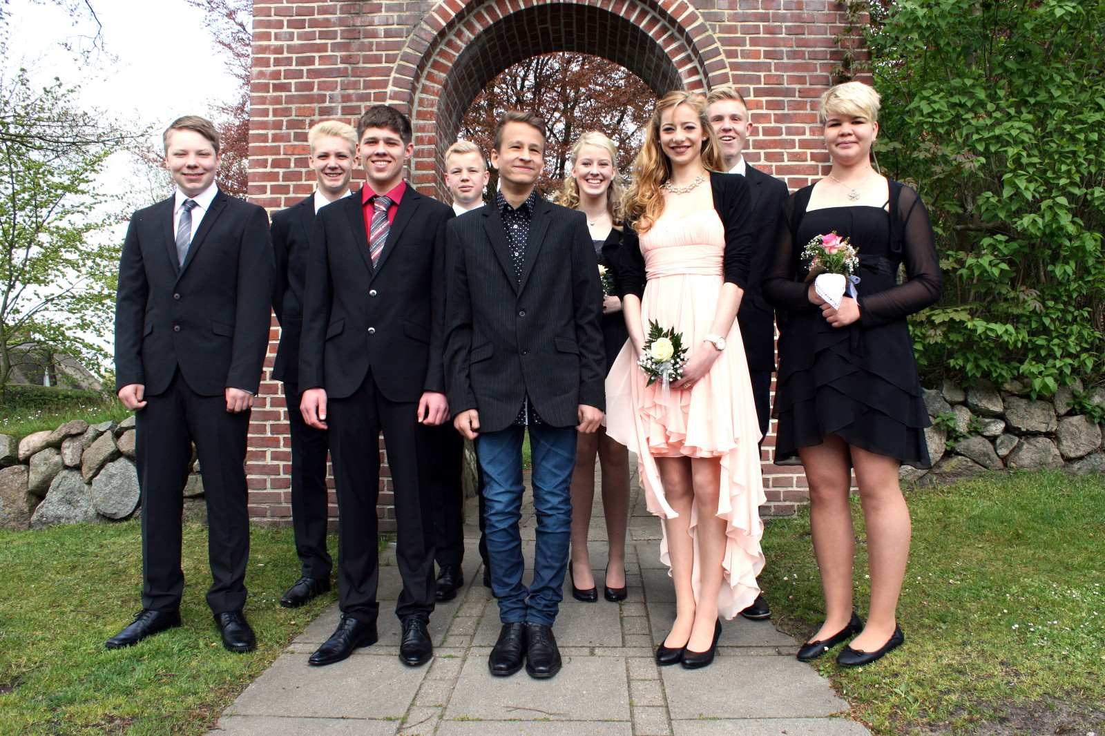 Konfirmation 2015 Enge