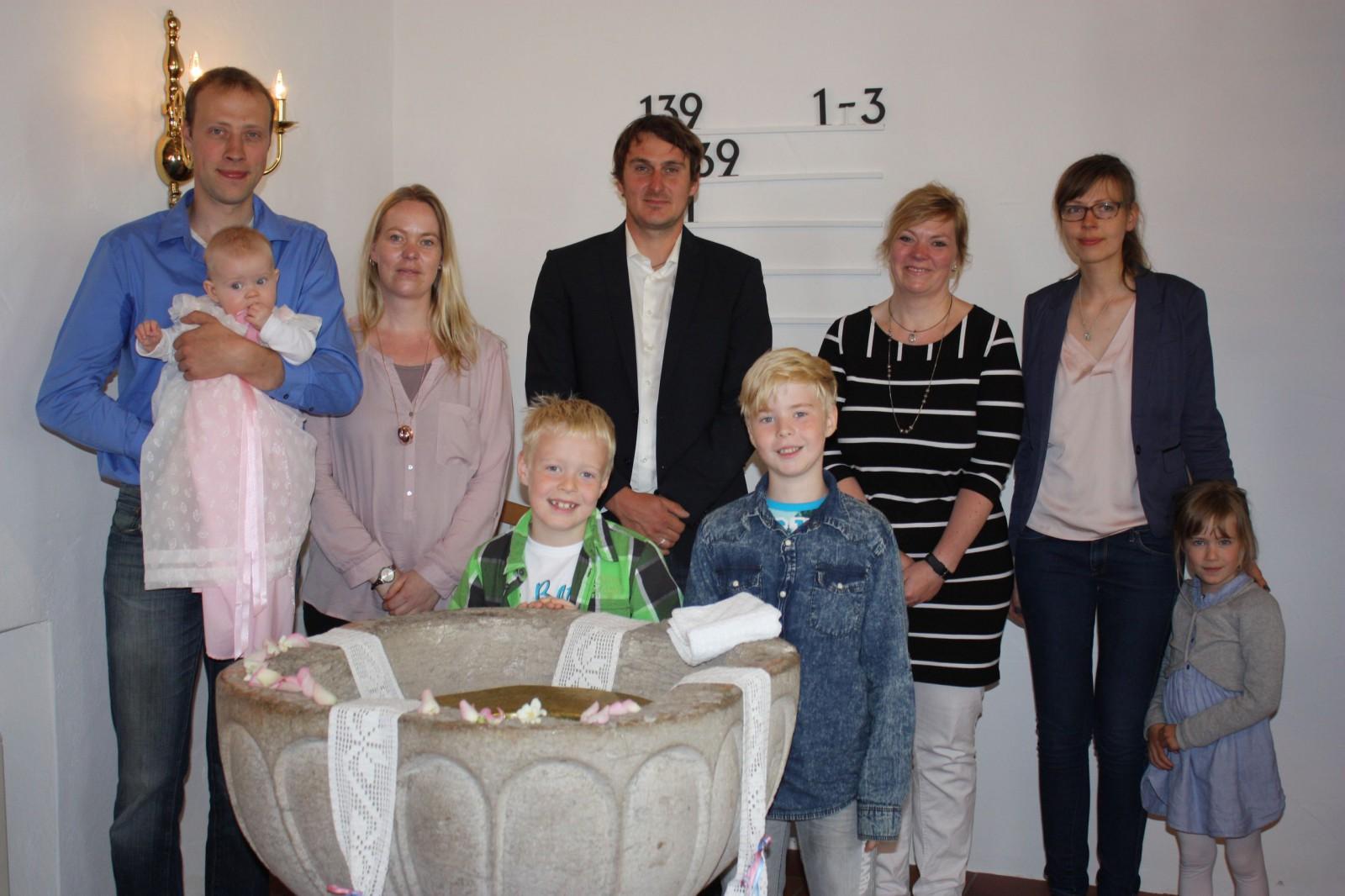 Taufe Lina Sophie Steensen