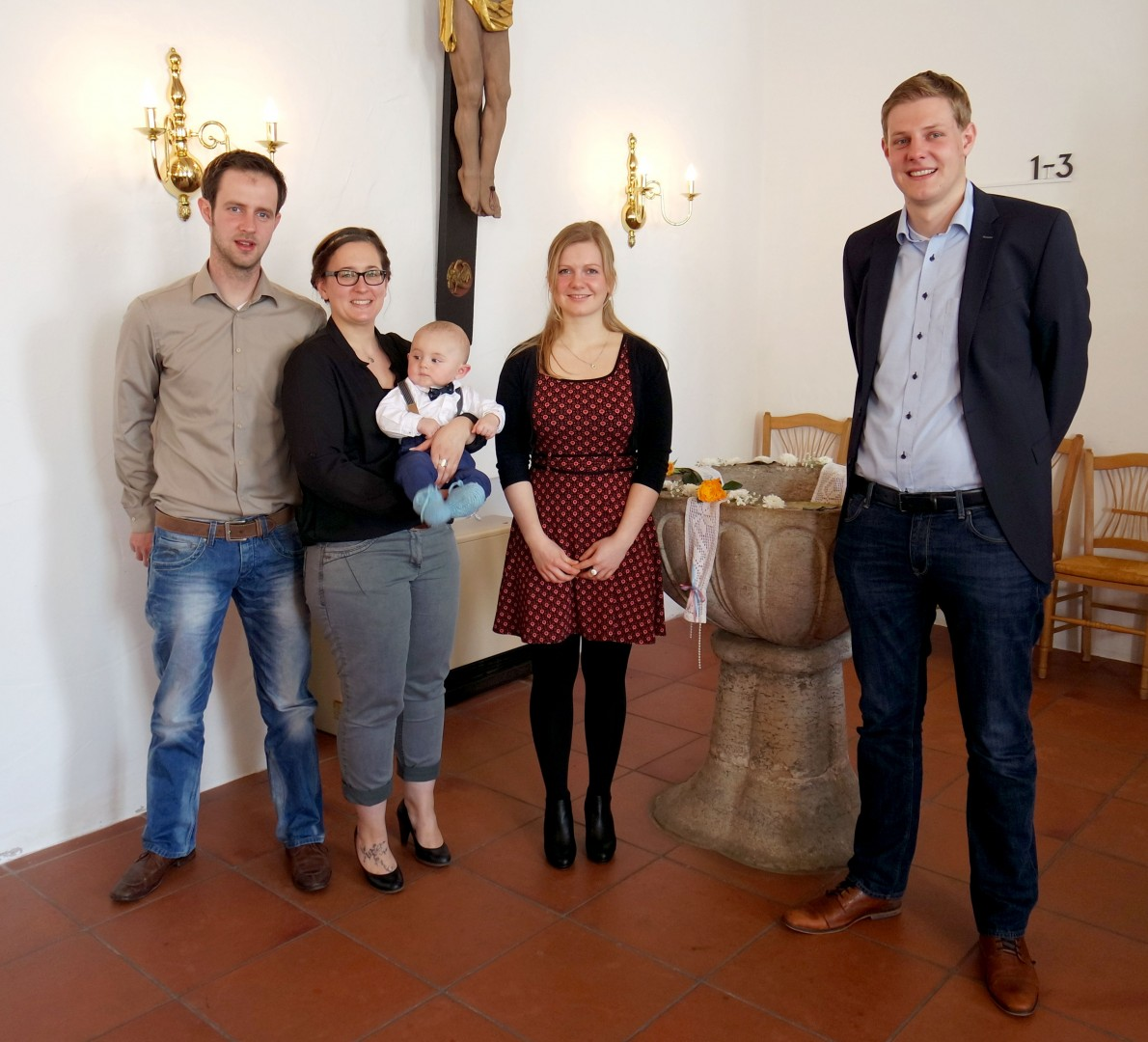 Taufe Johannes Matthiesen Stedesand