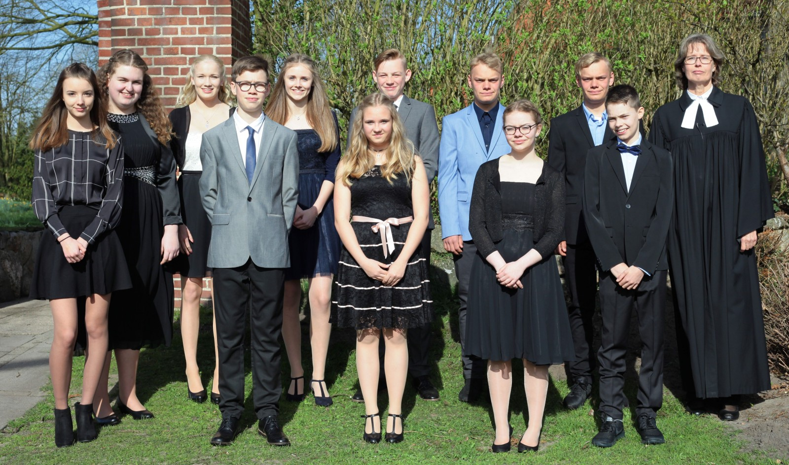 Konfirmation 2018 Enge