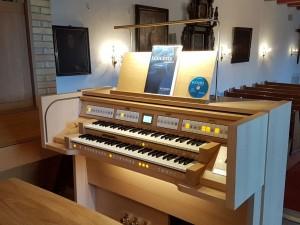 Neue Orgel Stedesand